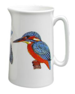 Richard Bramble 1 Pint Kingfisher Jug