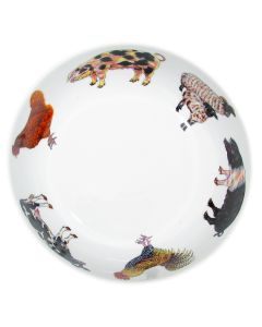 Richard Bramble Farmyard 24cm Bowl