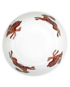 Hares 24cm Bowl by Richard Bramble