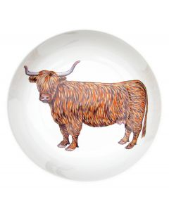 Richard Bramble Highland Cow 24cm Bowl