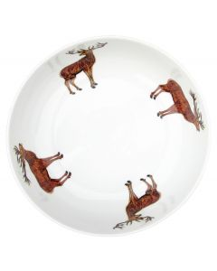Stags 24cm Bowl by Richard Bramble