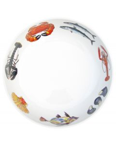 Richard Bramble Fish & Shellfish 28cm Bowl