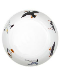 Seabirds 28cm Bowl by Richard Bramble