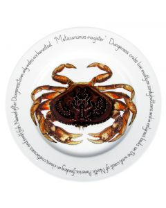 Dungeness Crab 30cm Plate by Richard Bramble