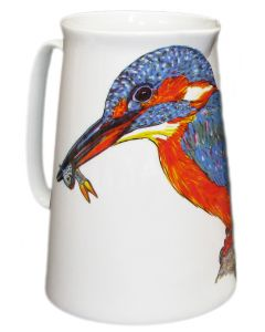 Kingfisher 3 Pint Jug by Richard Bramble