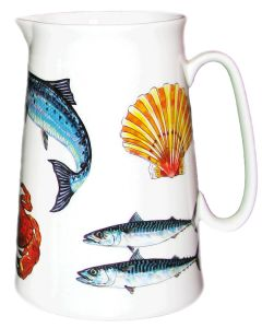 Richard Bramble Fish & Shellfish 3 Pint Jug