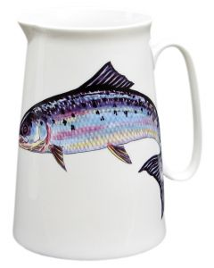 Kingfisher 3 Pint Jug by Richard Brambl