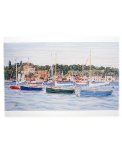 Richard Bramble Brownsea Castle Poole Harbour Greeting Card