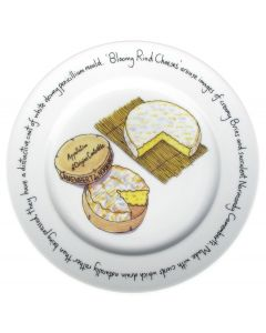 Bloomy Rind Cheese Plate by Richard Bramble