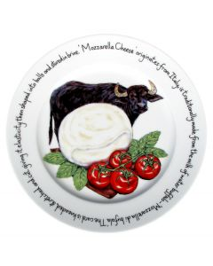 Mozzarella Cheese Plate (new limited edition) by Richard Bramble