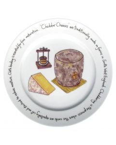 Cheddar Cheese Plate by Richard Bramble