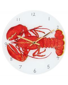 Red Lobster Clock by Richard Bramble