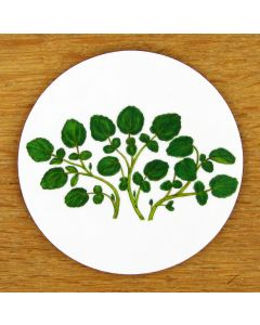 Watercress Coaster by Richard Bramble