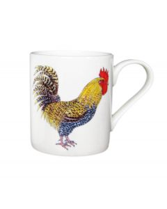 Richard Bramble Cockerel & Hen Small Mug