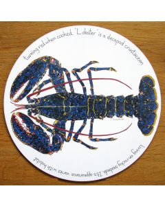 Richard Bramble Blue Lobster Tablemat