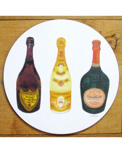 Richard Bramble Champagnes 1 Tablemat