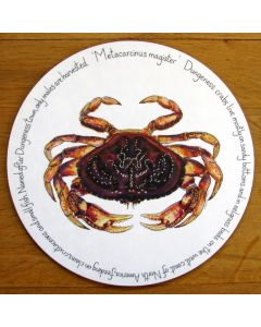 Dungeness Crab Tablemat by Richard Bramble