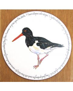 Oystercatcher Standing Tablemat by Richard Bramble