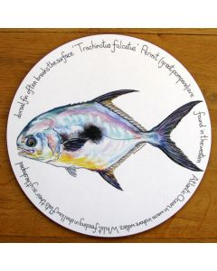 Permit Tablemat by Richard Bramble
