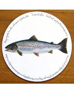 Sea Trout Tablemat by Richard Bramble