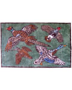 Turtle Mat - Game Birds Design (Small & Large)