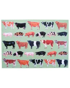 Richard Bramble Farmyard Gift Wrapping Paper