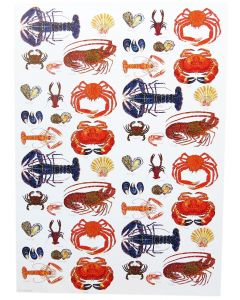 Richard Bramble Shellfish Gift Wrapping Paper